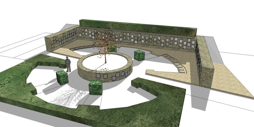 cimetiére la couronne image 3D
